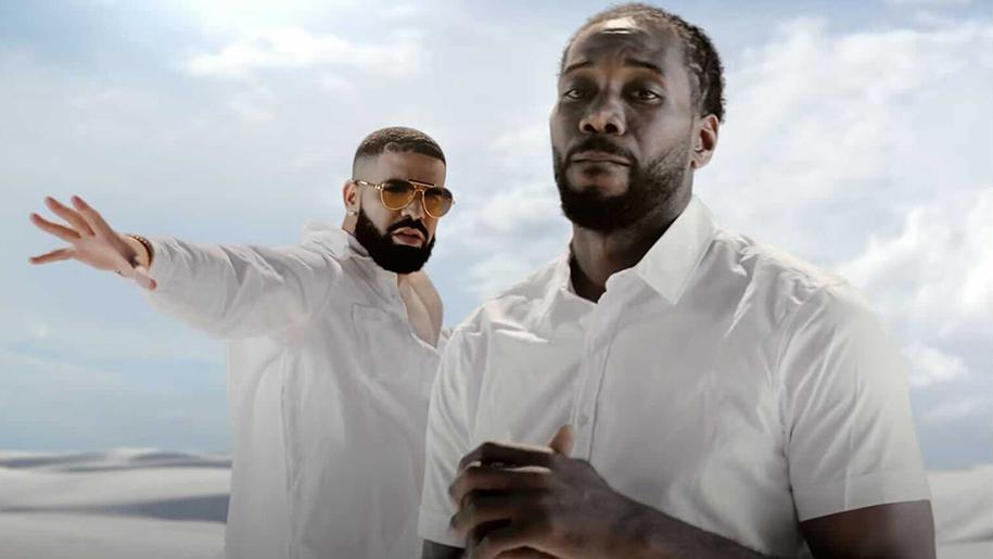 """Kawhi Leonard thẹn thùng """"cameo"""" trong MV mới của rapper Drake"""