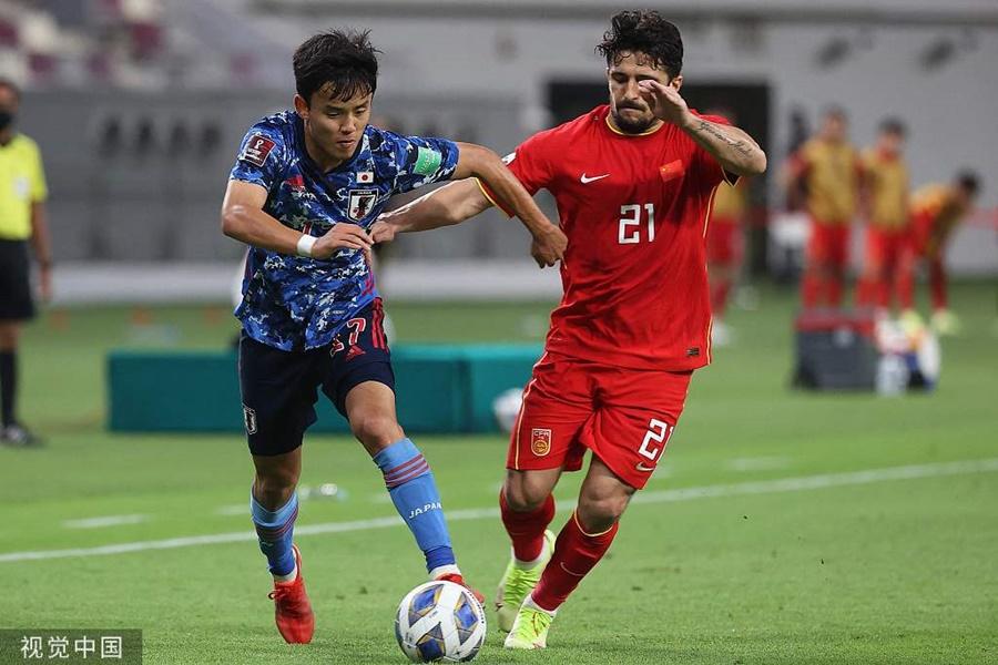 Danh sách cầu thủ nhập tịch của Trung Quốc: Có tiền đạo hai năm đá chính 1 trận