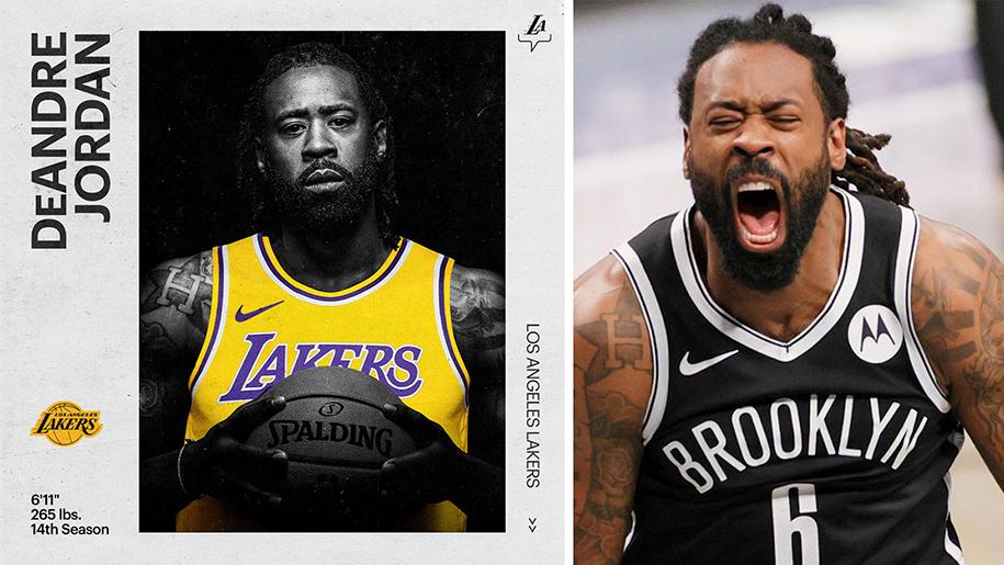 DeAndre Jordan chính thức cập bến Lakers: Gia tăng sức mạnh vòng trong