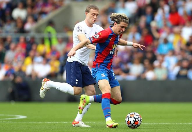 Trực tiếp Crystal Palace vs Tottenham: Kane thi đấu mờ nhạt