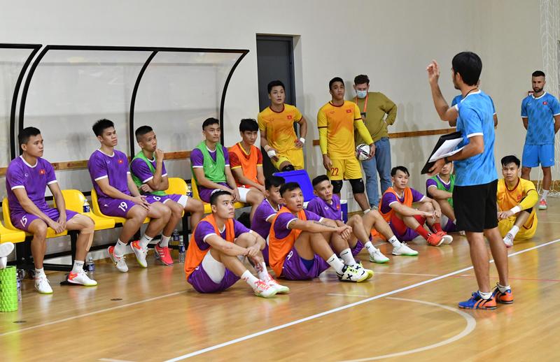 Đội hình tuyển futsal Việt Nam 2021: Danh sách cầu thủ dự World Cup