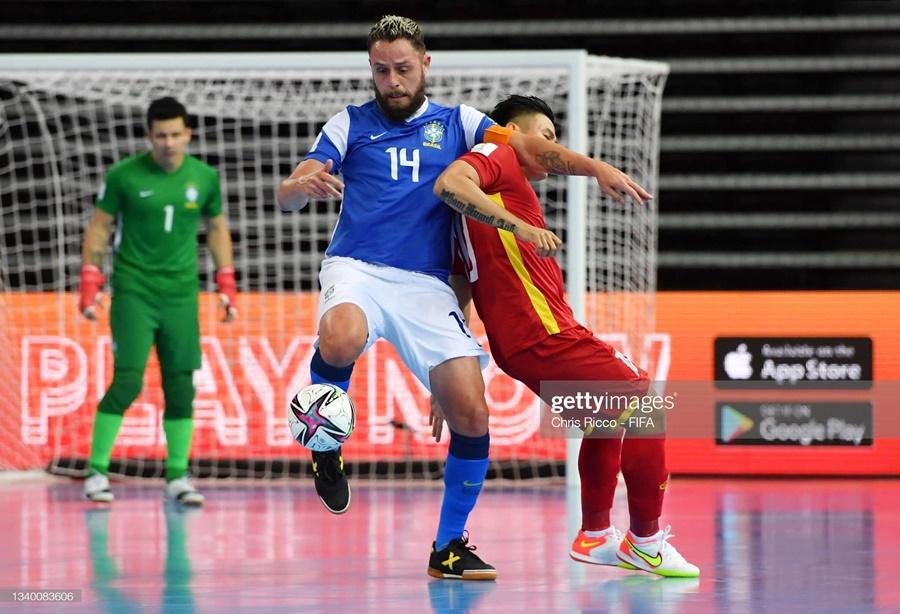 Xem lại bóng đá futsal Việt Nam vs Brazil, FIFA World Cup 2021