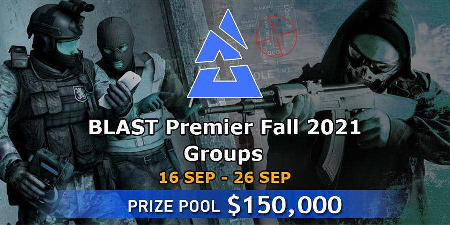 Lịch thi đấu CSGO BLAST Premier: Fall Groups 2021