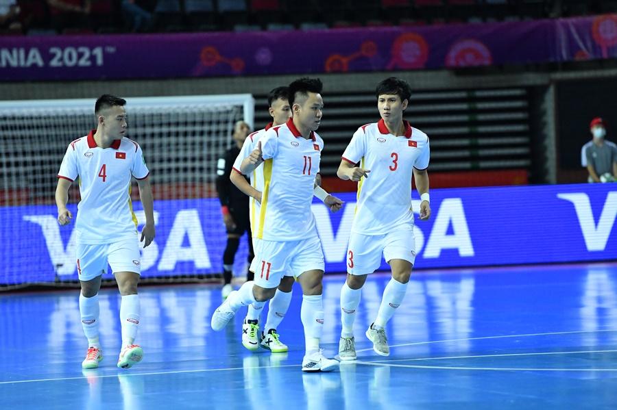 Tỷ số futsal Việt Nam 3-2 Panama: Thắng lợi nghẹt thở