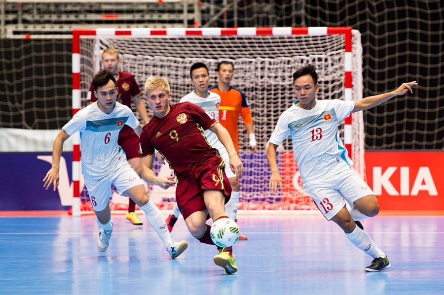 Nga 7-0 châu Á: Lời cảnh báo đến futsal Việt Nam ở World Cup 2021