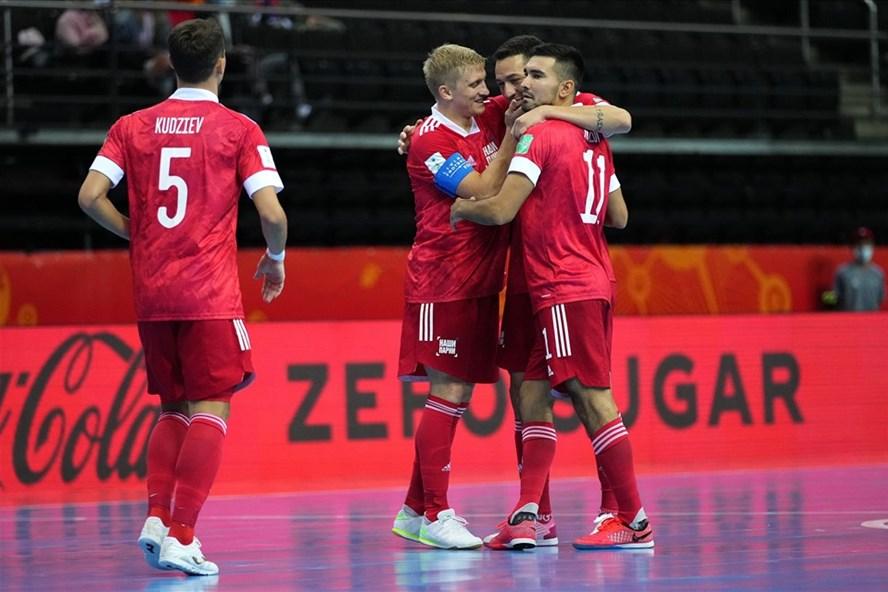 Tuyển futsal Nga đứng thứ mấy thế giới trước trận gặp Việt Nam?