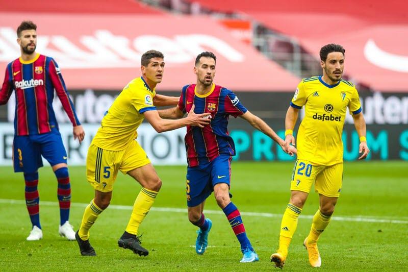 Nhận định, soi kèo bóng đá Cadiz đấu với Barcelona