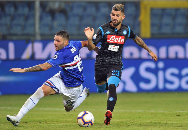 Nhận định, soi kèo bóng đá Sampdoria đấu với Napoli