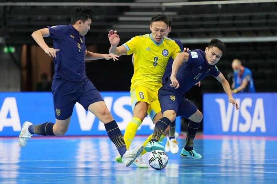 Thảm bại 0-7, Thái Lan đau đớn chia tay futsal World Cup
