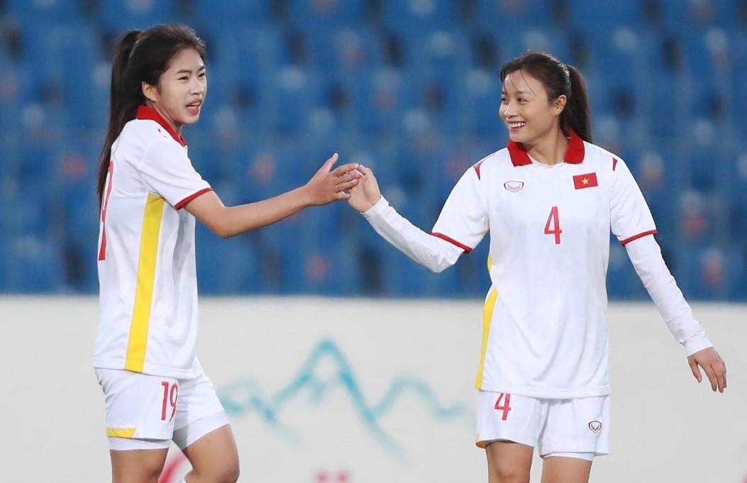 Kết quả nữ Việt Nam 16-0 Maldives: Dội