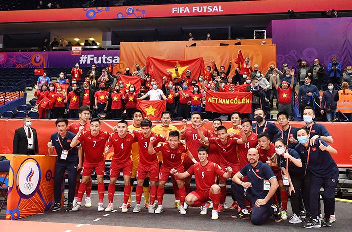 Việt Nam chạy đua đăng cai futsal World Cup 2024