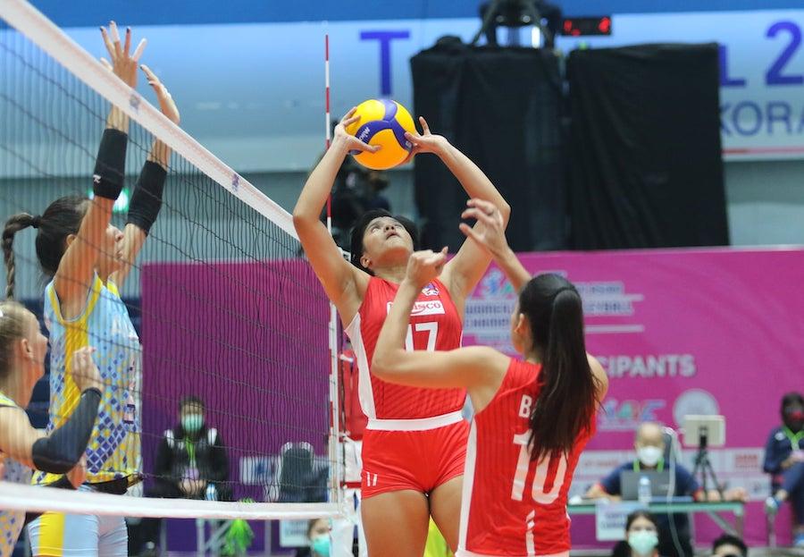 Kết quả giải bóng chuyền Vô địch các CLB nữ châu Á 2021