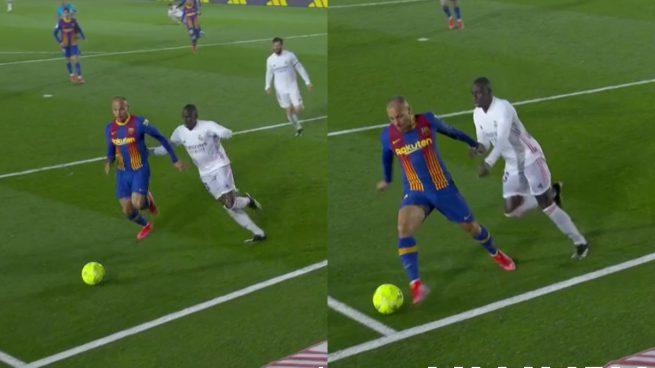Tranh cãi về phạt đền trong trận Real Madrid vs Barca