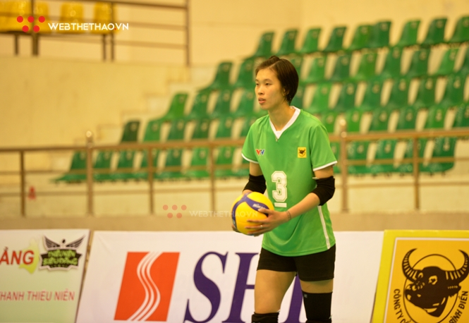 Thanh Thúy có khởi đầu suôn sẻ tại Cúp bóng chuyền Hoa Lư - Bình Điền 2021