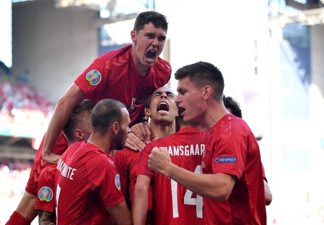 EURO 2021 chứng kiến bàn thắng nhanh nhất từ Đan Mạch