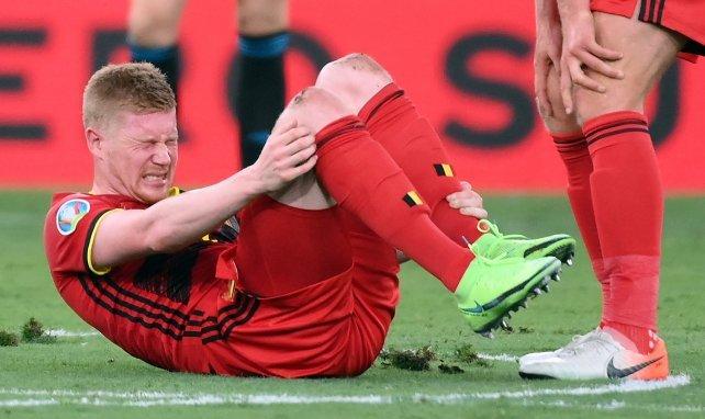 De Bruyne không chắc chơi vòng tứ kết EURO với Bỉ