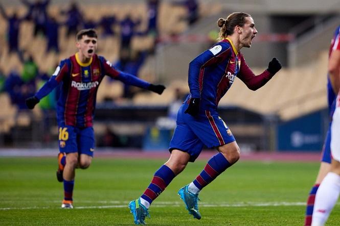 Hàng công Barca gấp đôi số bàn thắng của Real Madrid
