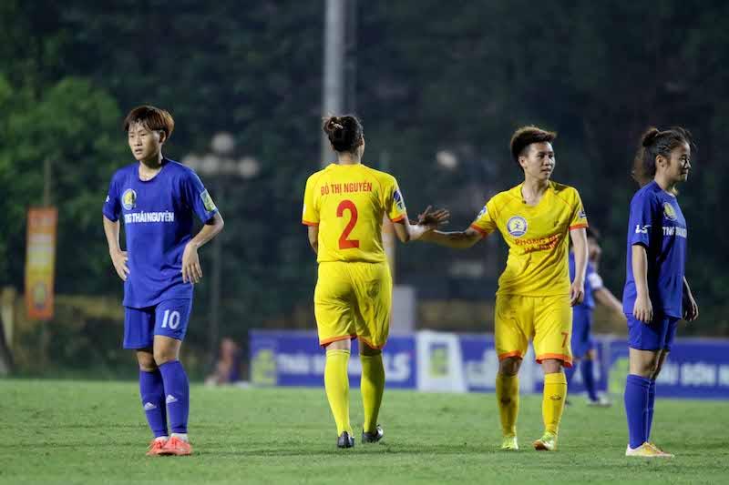 Bảng xếp hạng bóng đá nữ VĐQG Việt Nam 2020