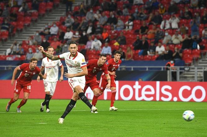 Thêm cầu thủ ghi bàn không cần nhìn ở Siêu Cúp châu Âu