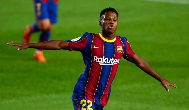 Barca vs Real: Ansu Fati đi vào lịch sử trận Siêu kinh điển