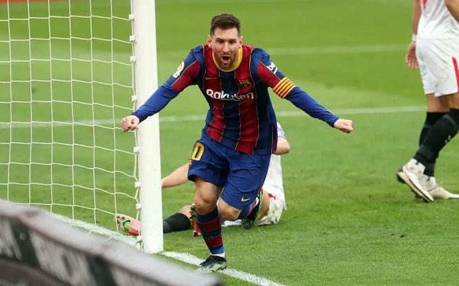 Messi đạt chuỗi ghi bàn tốt thứ ba với Barca trong sự nghiệp