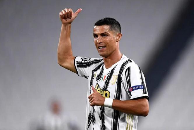 Ronaldo trong top cầu thủ chạy nhanh nhất năm 2020