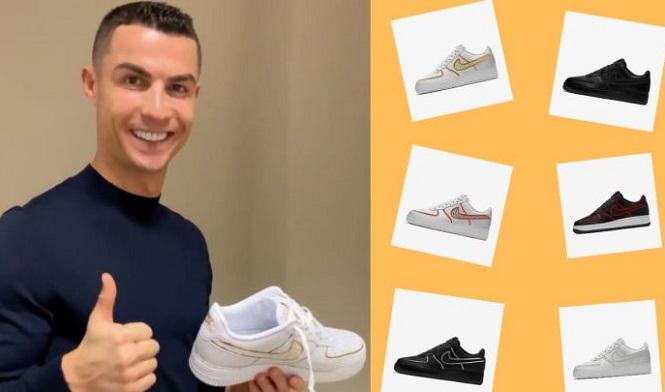 Cristiano Ronaldo ra mắt giày mới tự thiết kế với thương hiệu CR7
