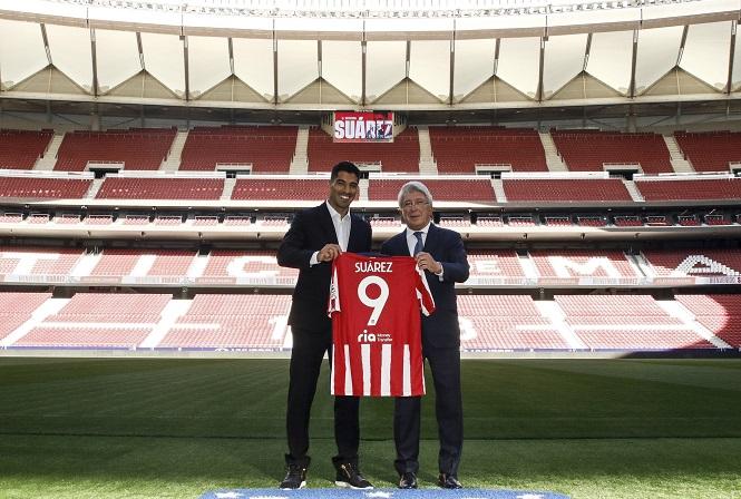 Suarez tạo nên đội hình trị giá hơn nửa tỷ euro của Atletico Madrid