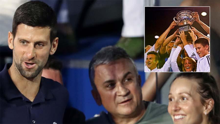 Cha của tân vô địch giải tennis Australian Open - Novak Djokovic: