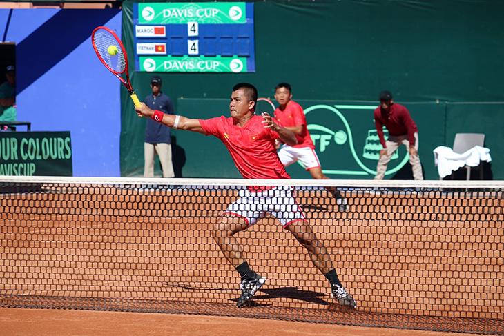 Kết quả tennis Davis Cup hôm nay: Việt Nam tranh thăng hạng với