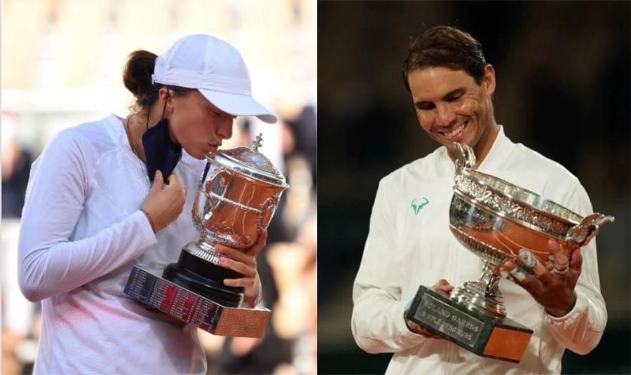 Tiền thưởng Roland Garros 2020: Nadal và Swiatek được hưởng bao nhiêu?