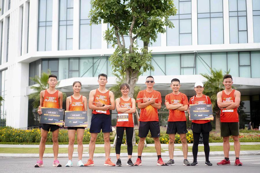 CLB chạy Bắc Giang vô đối tại cuộc đua Offline Ekiden