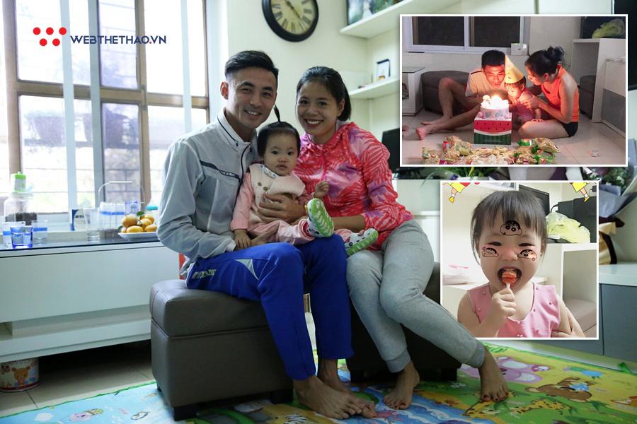 """Mừng con gái tròn 2 tuổi, """"mẹ bỉm sữa"""" Nguyễn Thị Huyền thêm động lực trở lại đỉnh cao"""