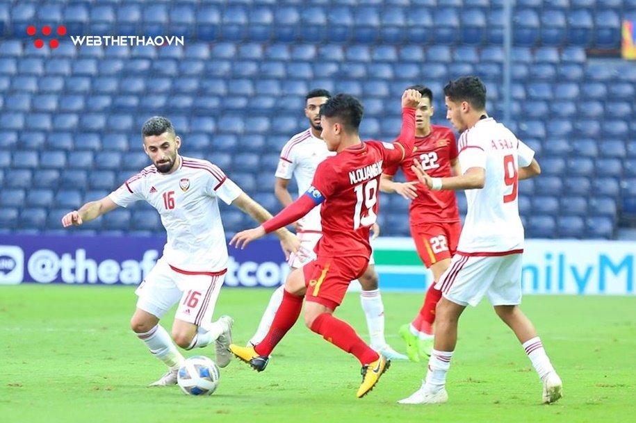 UAE vs Việt Nam vòng loại World Cup 2022 đá mấy giờ, ngày nào?