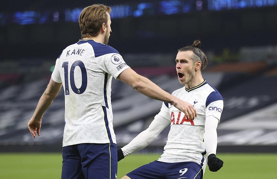 Gareth Bale và Harry Kane tạo ra thống kê phi thường với Tottenham