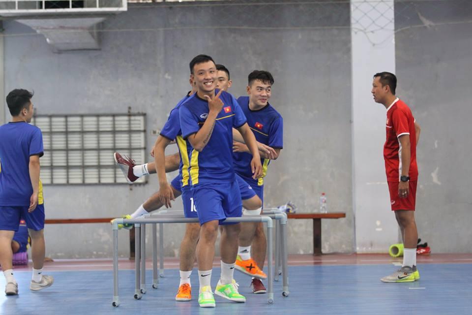 Tuyển futsal Việt Nam được chăm đến tận răng để giành vé dự World Cup 2020