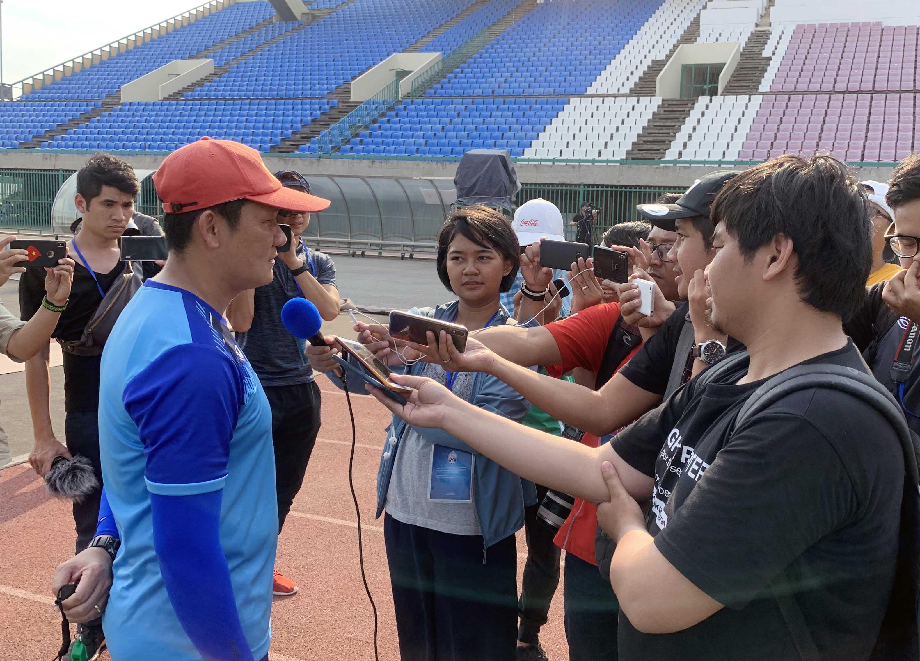 HLV U22 Việt Nam báo tin không vui trước trận Bán kết giải Đông Nam Á 2019
