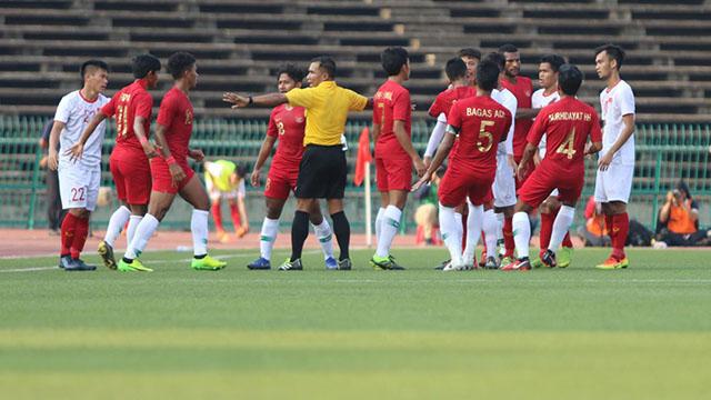 Đánh bại Việt Nam, U22 Indonesia giành vé vào chơi trận Chung kết giải U22 Đông Nam Á 2019