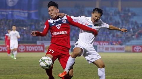 19h00, sân Hàng Đẫy, CLB Hà Nội - CLB Quảng Ninh: Thử thách cho nhà vua