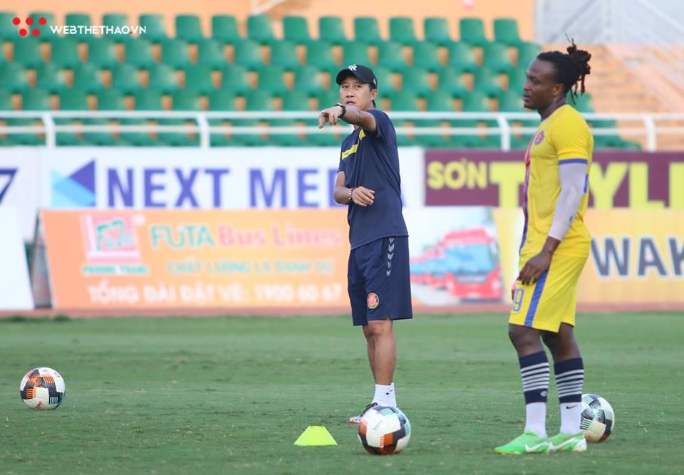 Gặp đội bóng của Đức Chinh là cơ hội để Sài Gòn FC bức tốc vào Top 5?