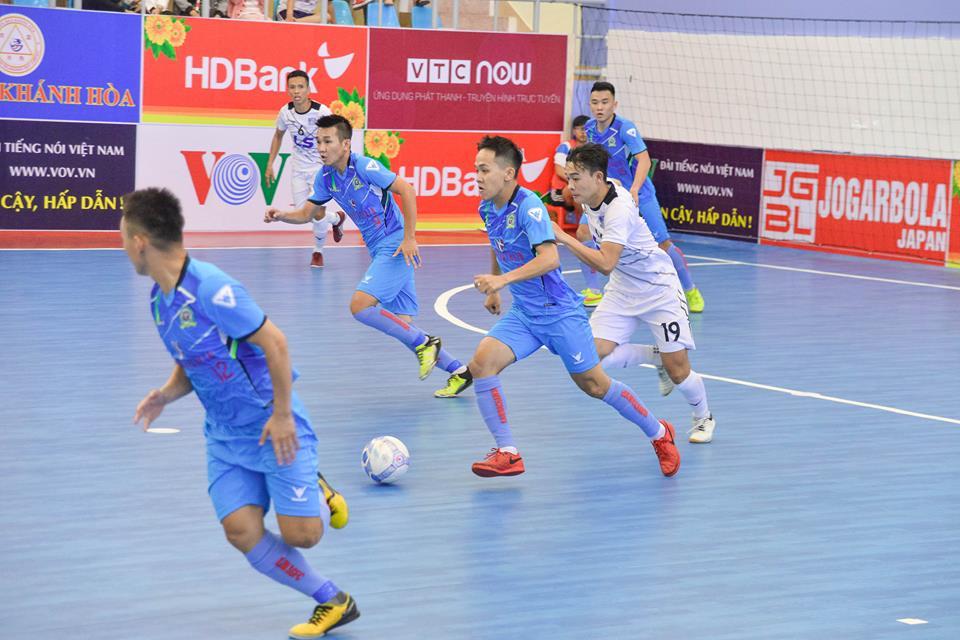 Thái Sơn Nam bị đội futsal xuất thân từ phong trào làm quê mặt tại giải Quốc gia