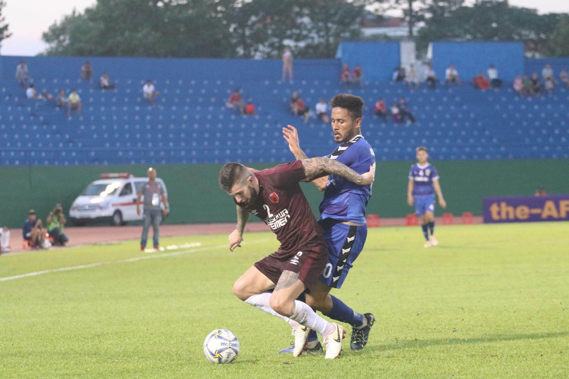 Điều lo sợ của Bình Dương trước trận bán kết AFC Cup 2019