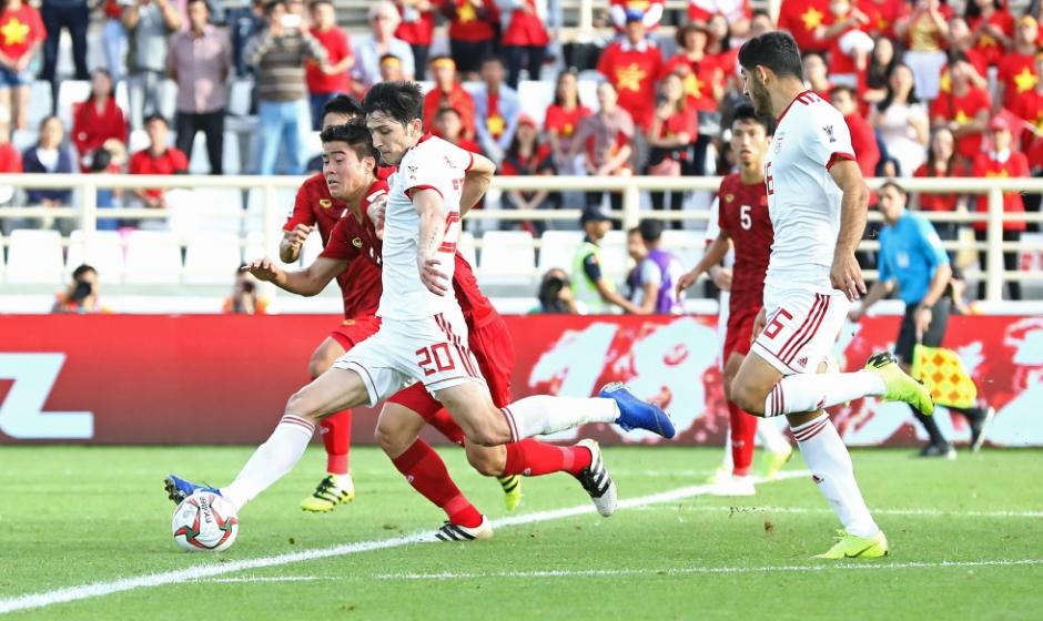 Đánh bại VN, Iran giành vé đi tiếp tại Asian Cup 2019
