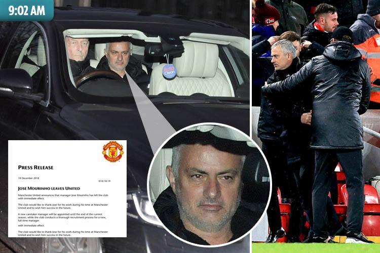 Không như tin đồn, đây mới là số tiền thật sự Man Utd đền bù hợp đồng cho Mourinho