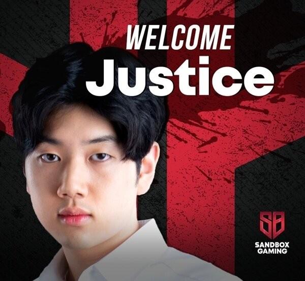 CHÍNH THỨC: Cựu đường giữa của Longzhu Gaming, Justice gia nhập SANDBOX Gaming