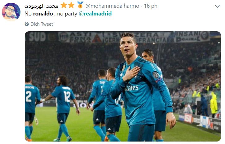CĐV đồng loạt nhắc về Ronaldo sau khi Real cán số trận thua kỷ lục