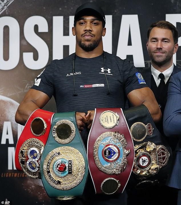 Anthony Joshua: Wilder còn lâu mới là đối thủ nguy hiểm nhất ở hạng nặng!