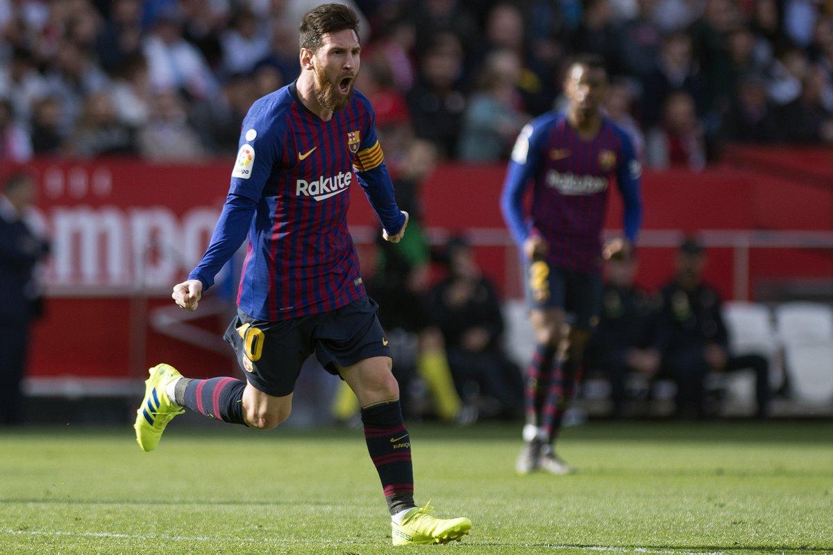 Messi ghi bàn không tưởng, lập kỷ lục mới và những điểm nhấn từ trận Sevilla - Barca