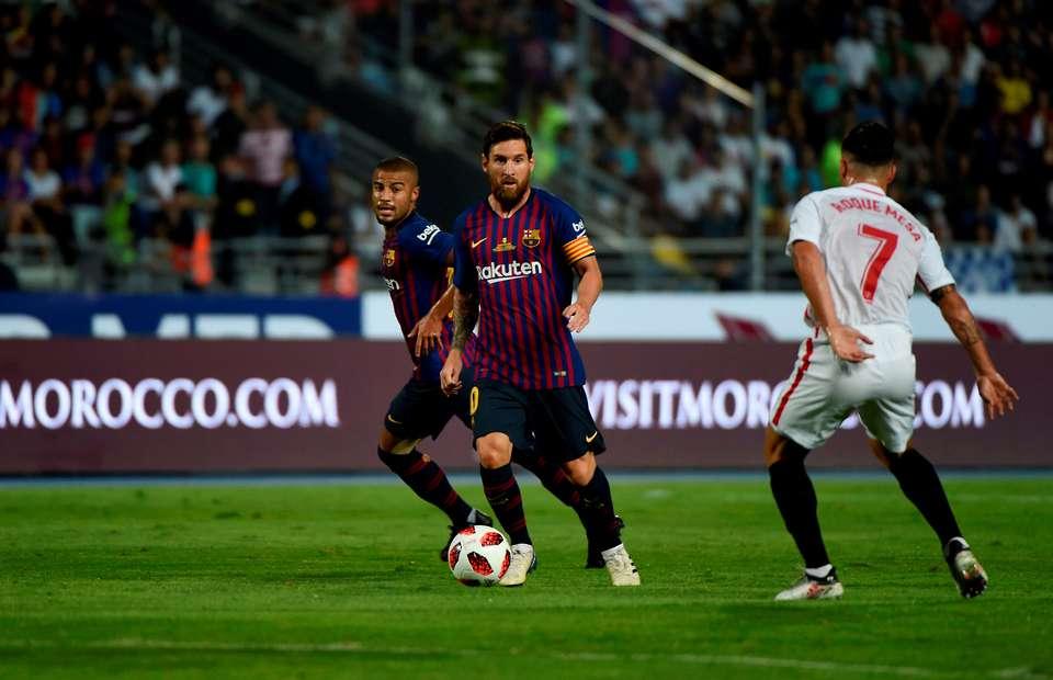 Messi đã biến sân Sanchez Pizjuan của Sevilla trở thành sân chơi như thế nào?