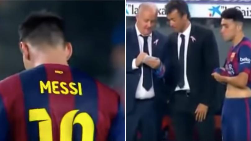 Không chỉ Kepa mà cả Messi cũng từng kháng lệnh thay người của HLV